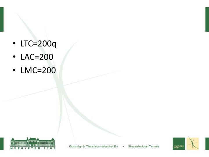 LTC=200q