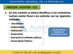 proceso auditor ccc1