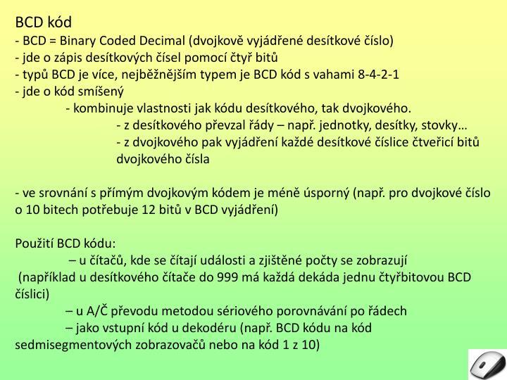 BCD kód