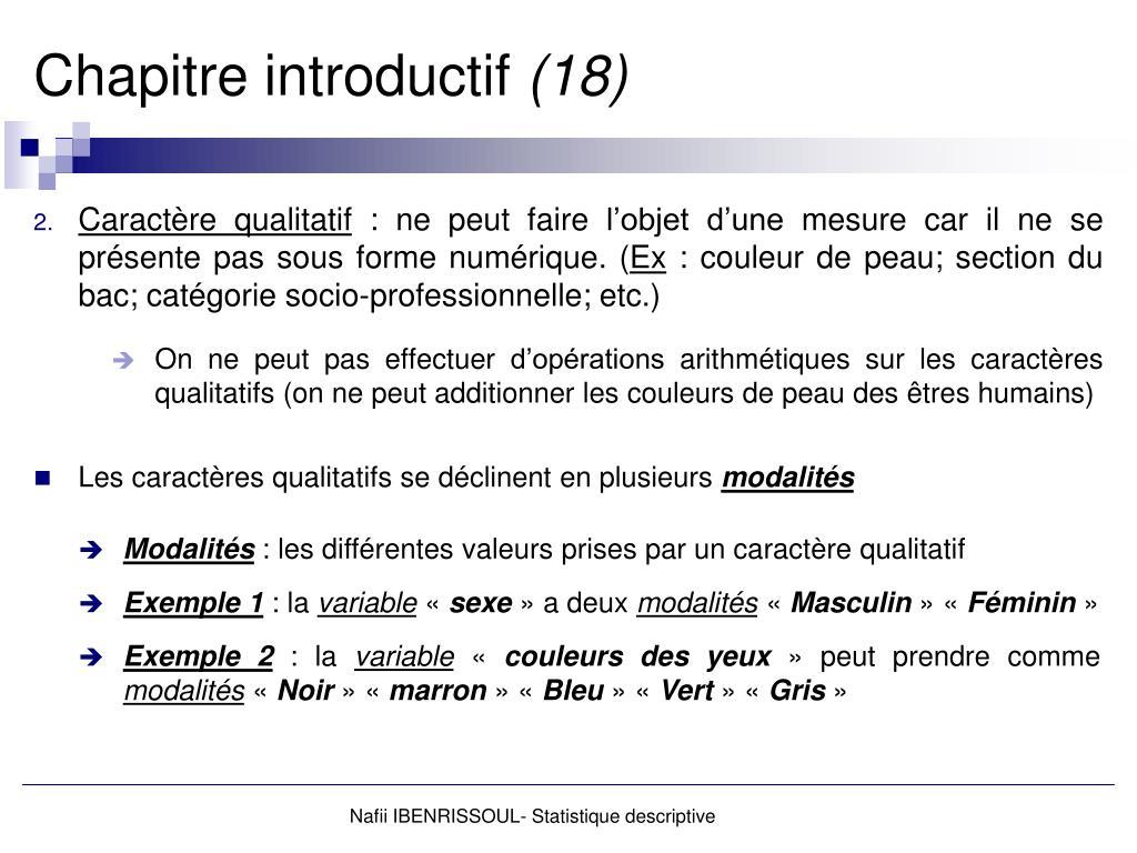 Ppt Statistique Descriptive Powerpoint Presentation Free Download Id 3161525