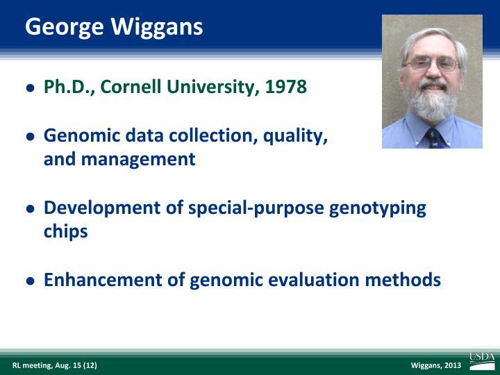 George Wiggans