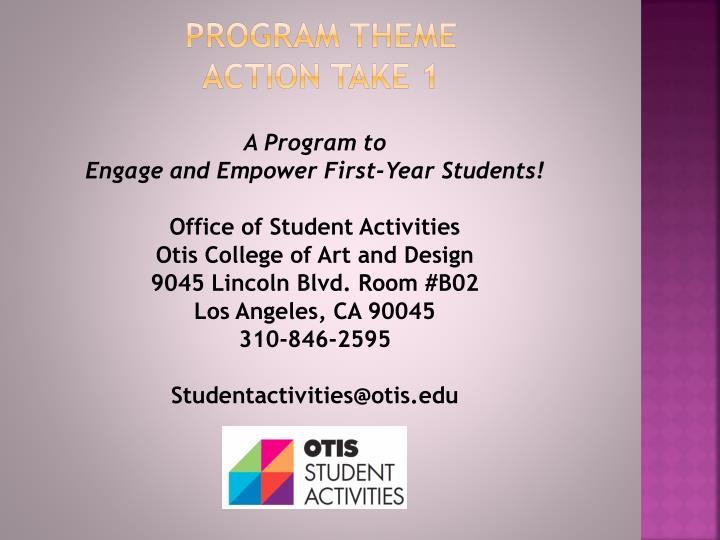 Program theme