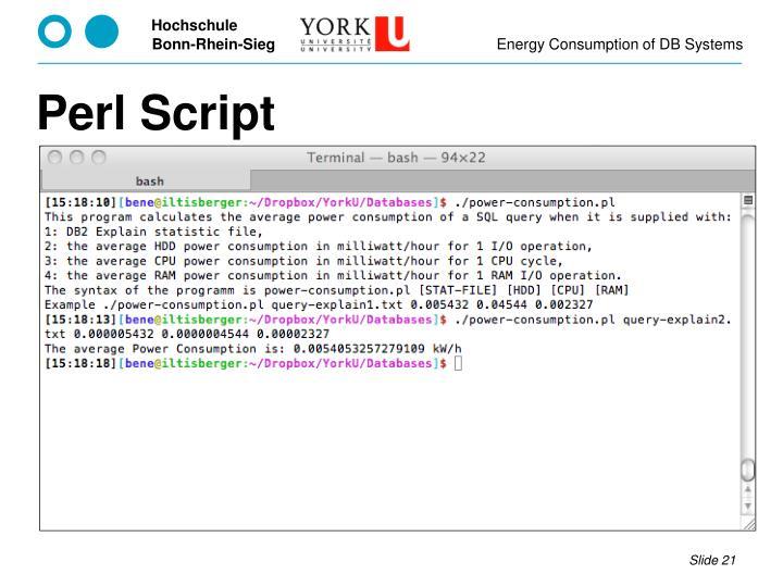 Perl Script