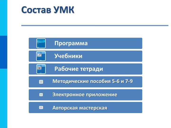 Состав УМК