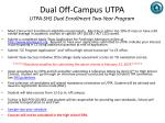 dual off campus utpa utpa shs dual enrollment two year program