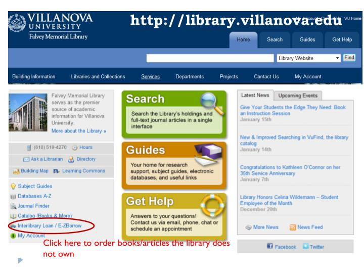 Http library villanova edu