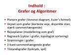 indhold grafer og algoritmer1