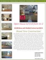 open house 6 7 14 from 11 2 4 000 bonus with ratified contract by 6 8 14