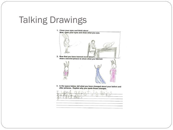 Talking Drawings