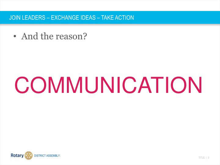 Join leaders exchange ideas take action