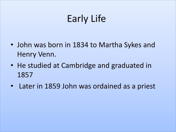 Ppt john venn powerpoint presentation id3166724 john was born in 1834 to martha sykes and henry venn ccuart Gallery