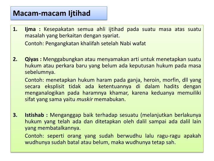 Ppt Sumber Hukum Islam Powerpoint Presentation Id 3166805
