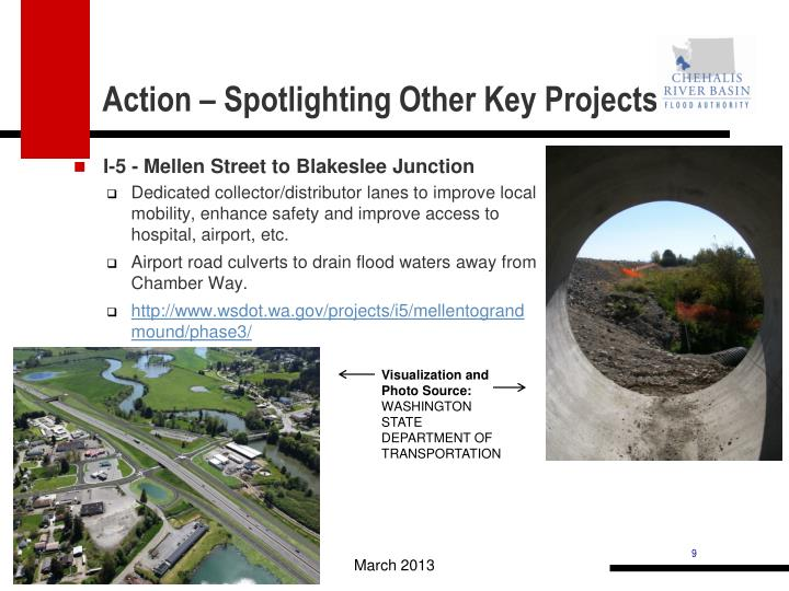 Action – Spotlighting Other Key Projects