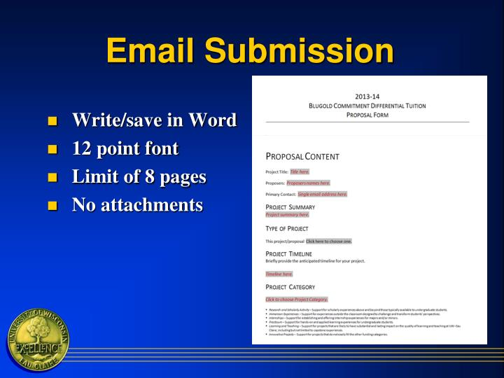 Email Submission