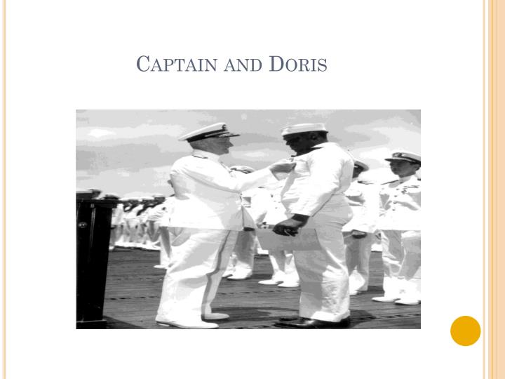 Captain and Doris