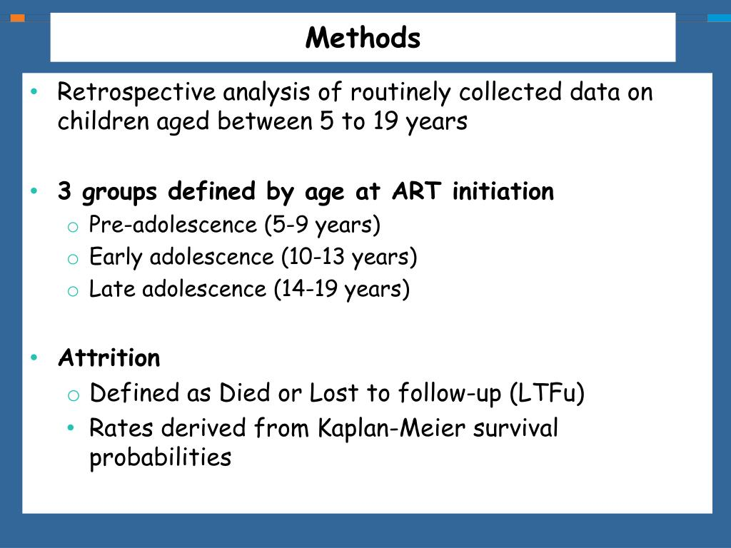 PPT - HIV treatment outcomes among patients initiating ART from