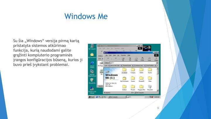 Windows Me