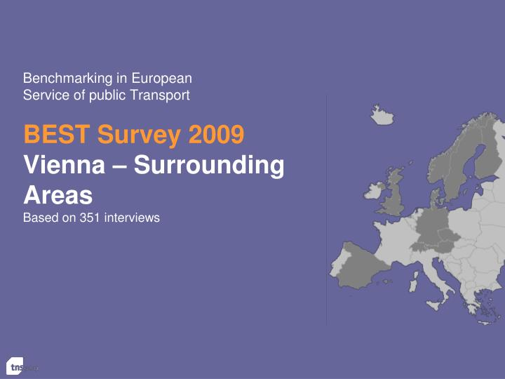 benchmarking in european service of public transport n.