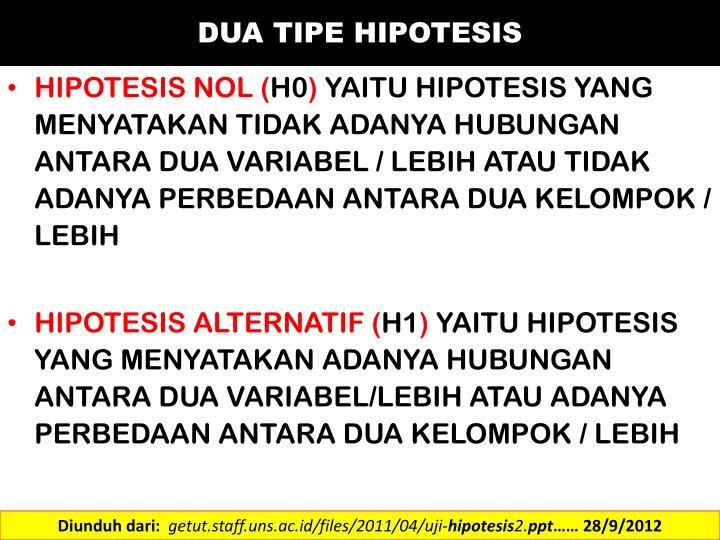 Ppt Hipotesis Uji Hipotesis Powerpoint Presentation Id 3169160
