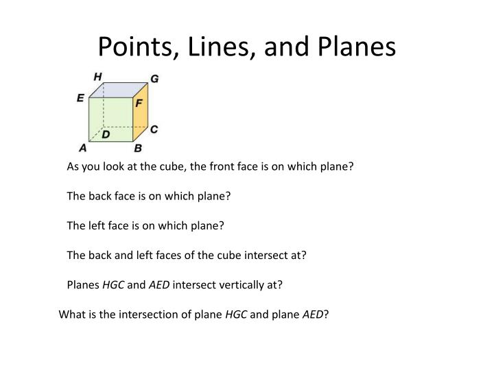 Points lines and planes2
