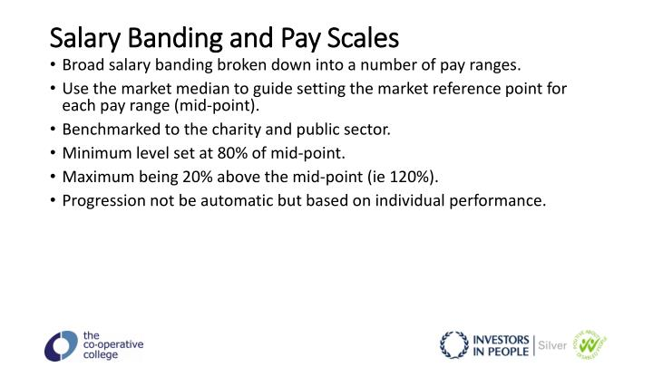 Salary Banding and Pay Scales