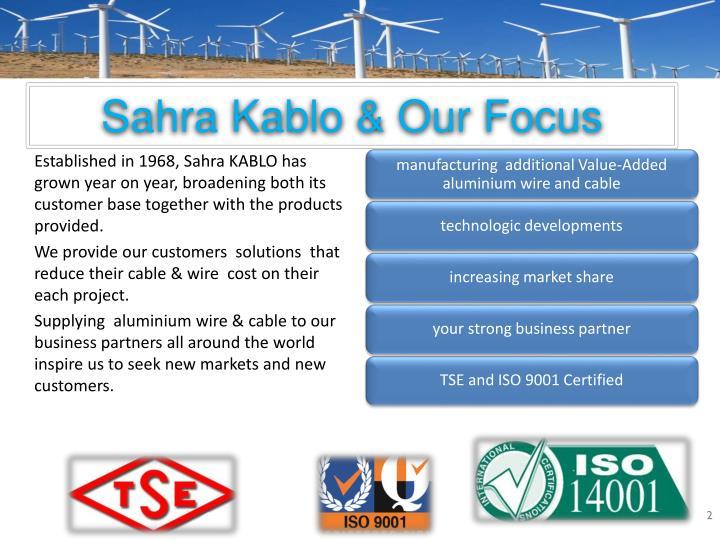 PPT - Sahra Kablo Wire & Cable Manufacturer PowerPoint ...