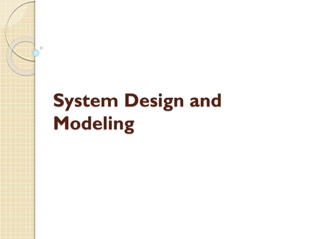 Ppt System Design And Modeling Powerpoint Presentation Id3171062 Uml State Chart Diagram For Vending Machine N