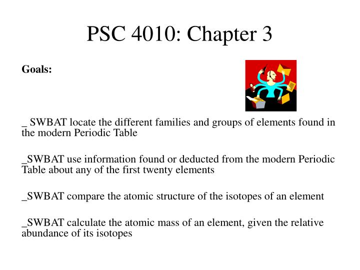 Psc 4010 chapter 3
