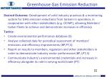 greenhouse gas emission reduction1