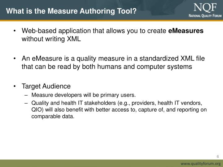 What is the Measure Authoring Tool?