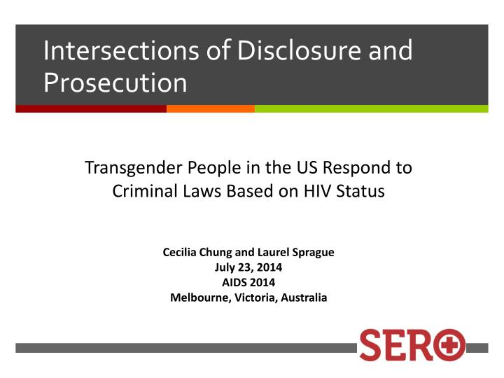 Intersections of disclosure and prosecution