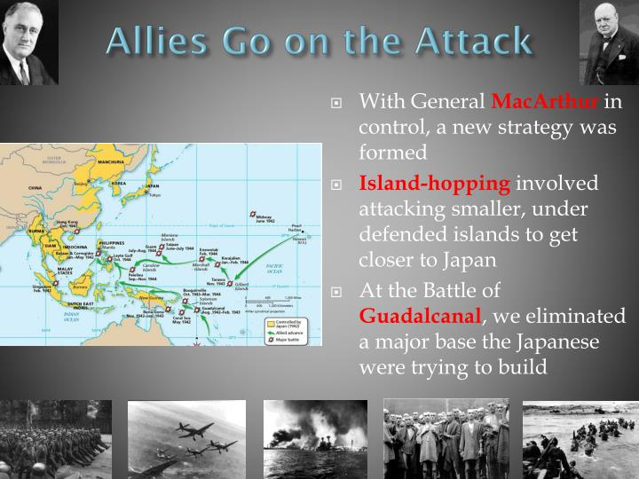 Allies Go on the Attack
