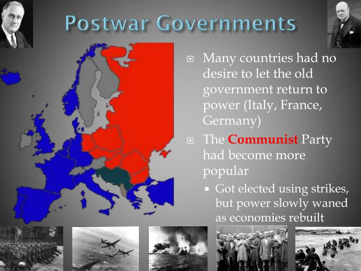 Postwar Governments