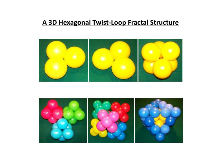 A 3D Hexagonal Twist-Loop Fractal Structure