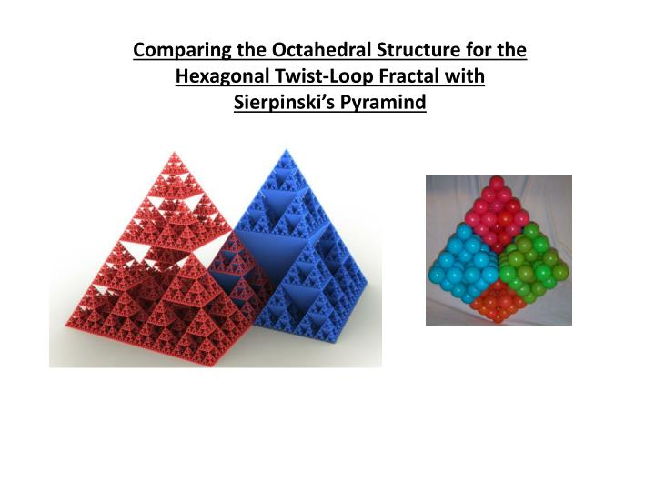 Comparing the Octahedral Structure for the