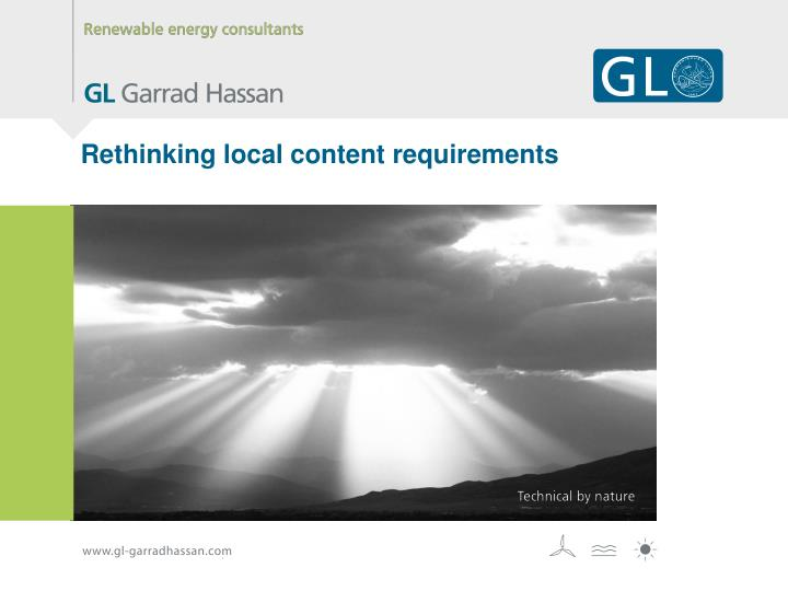 Rethinking local content requirements