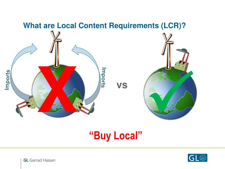 What are local content requirements lcr