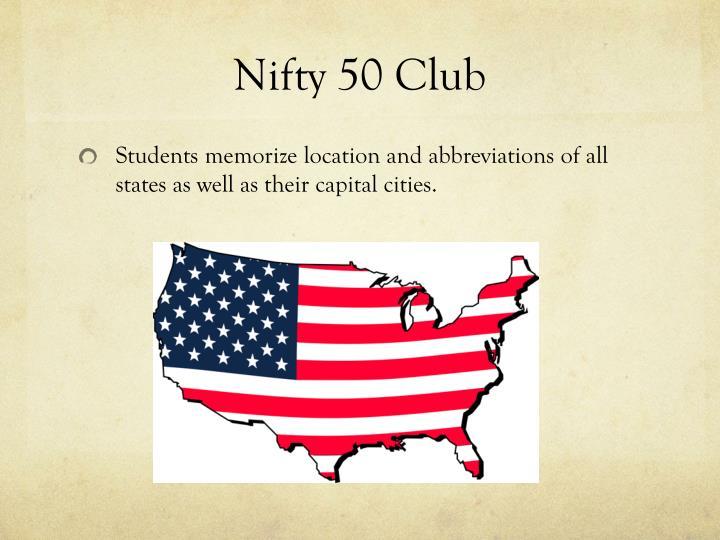 Nifty 50 Club