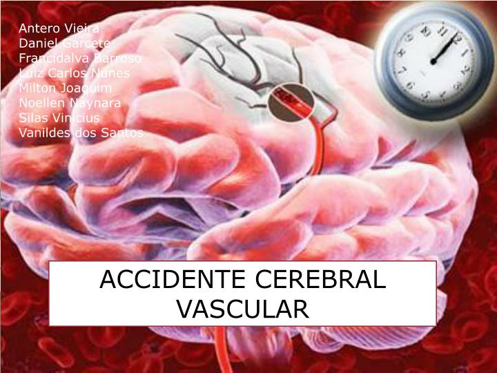 an analysis of patient that suffers in cerebral vascular accident stroke Stroke cerebrovascular accident  in which case the patient suffers an ischemic infarction,  cerebral vascular events associated with ulcerative colitis in.