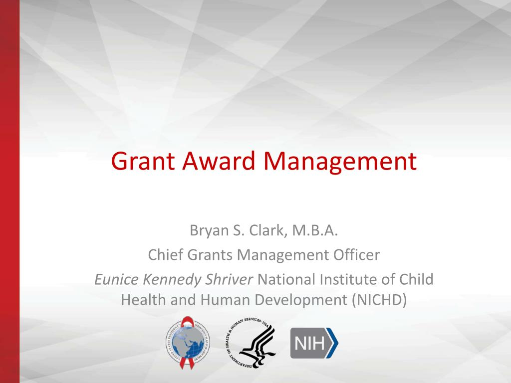 Technology Management Image: Grant Award Management PowerPoint Presentation