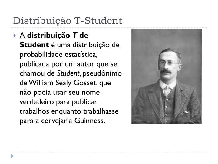Distribui o t student1