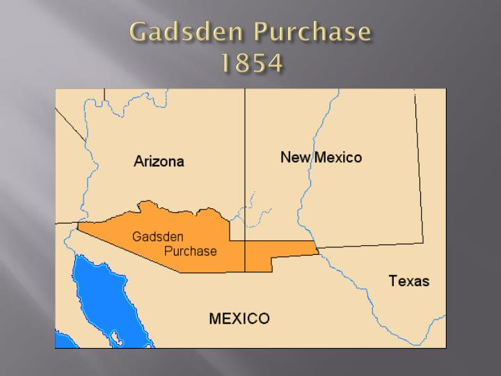 Gadsden purchase 1854