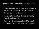 review the constitutional act 17911