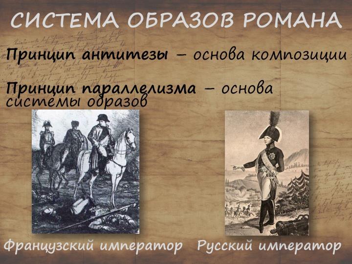 СИСТЕМА ОБРАЗОВ РОМАНА