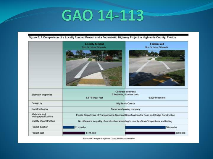 GAO 14-113