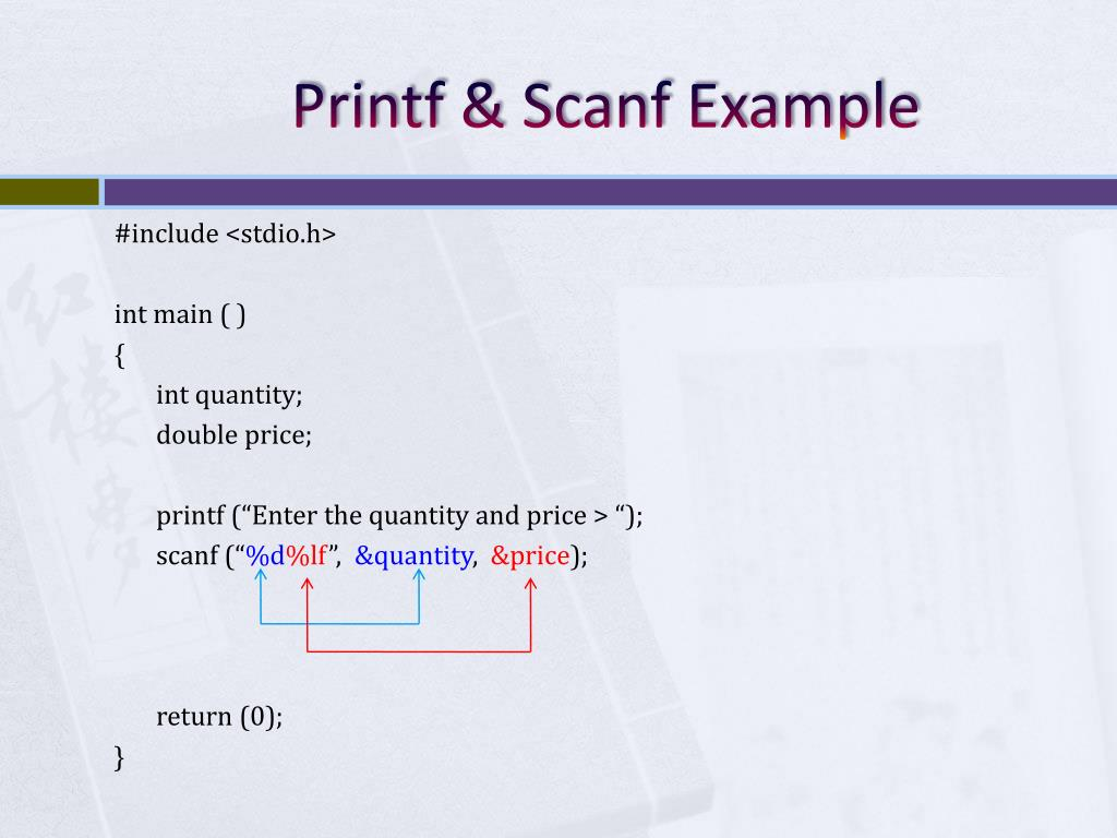 PPT - Handling Input & Output PowerPoint Presentation - ID