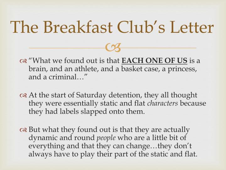 ppt - the breakfast club powerpoint presentation - id:3176811