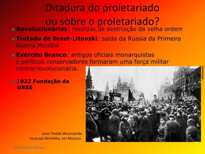 Ditadura do proletariado