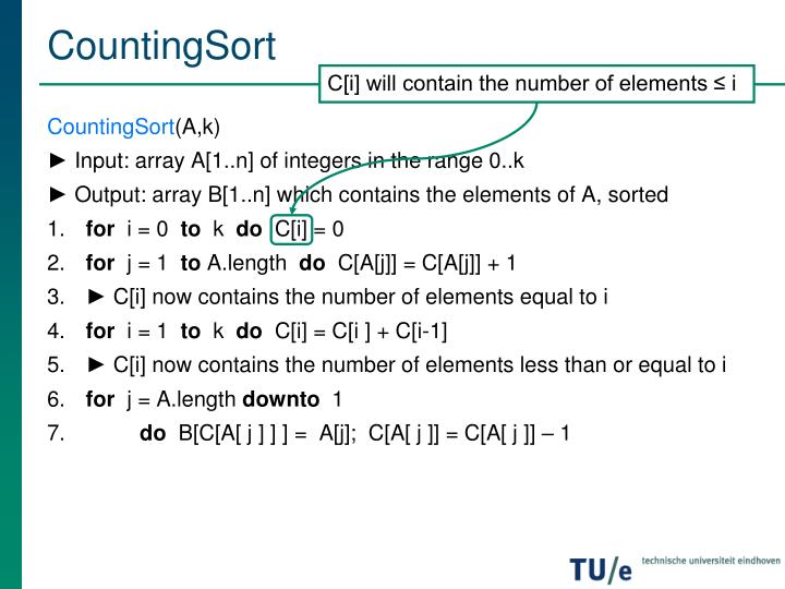 CountingSort