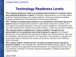 technology readiness l evels1